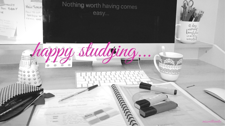 happy studying