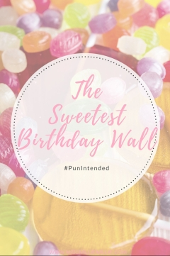 Sweet Birthday Wall - COVER